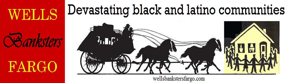 Wells Banksters Fargo