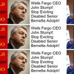 John Stumpf Stock Evicting Bernetta Adolph