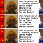 Brenda Wright Stop Evicting Bernetta Adolph